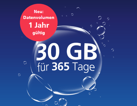 o2 my Prepaid Internet-to-Go: SIM-Karte als Jahrestarif