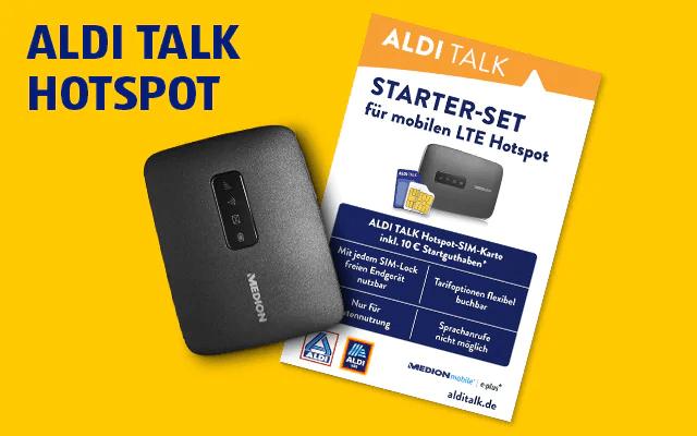 ALDI Hotspot SIM-Karte inkl. WLAN-Router - 39,99 Euro